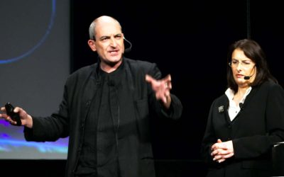 Rachel Cooper and Mike Press