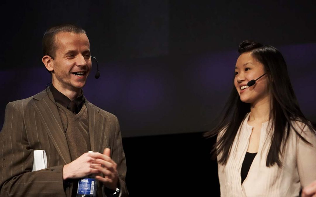 Julian Roberts and Sophie Cheung